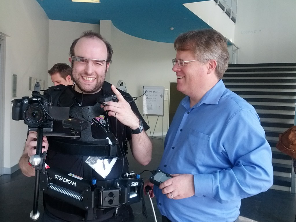 Charbax Google Glass Robert Scoble